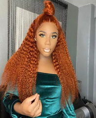 Orange Lace Front Wig - Exclusive Hair