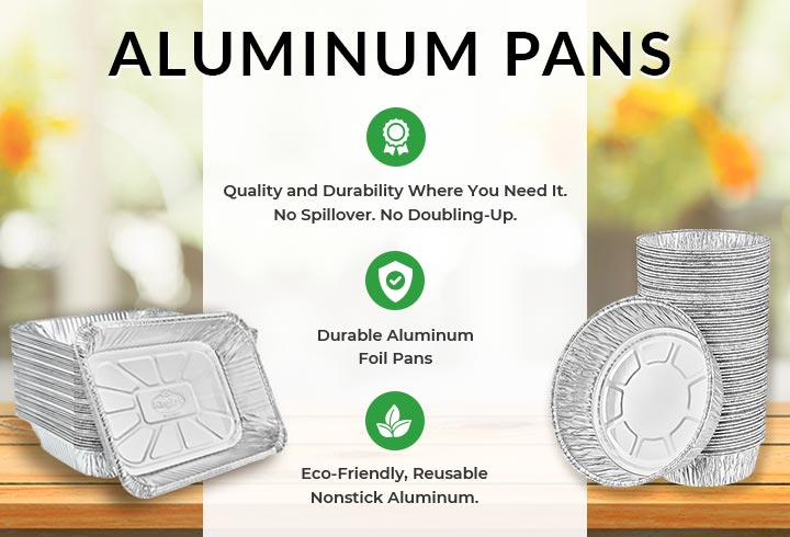 Aluminum Bread and Loaf Disposable Pans