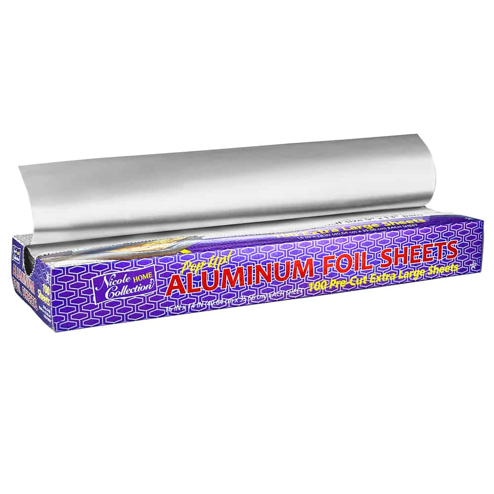 "Aluminum 16"" x 14"" Pop-Up Foil Sheets"
