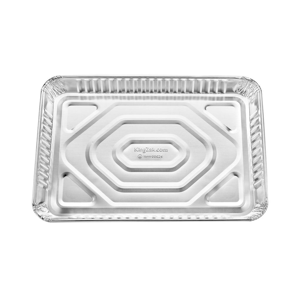 "Heavy Duty Aluminum 1/4 Size Cookie Sheet 12.75"" L X 8.75"" W X 1.125"" D [100 Count]"