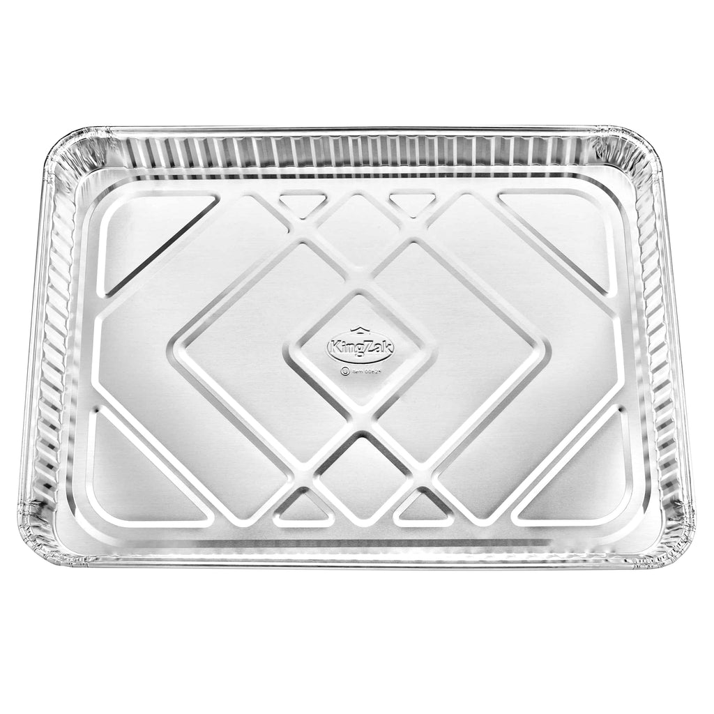 "Heavy Duty Aluminum Half Size Cookie Sheet 17.75"" L X 12.75"" W X 1.25"" D [100 Count]"