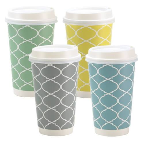 Premium Paper Lattice Drinkware<br/>Size Options:12oz Cup and 16oz Cup - King Zak