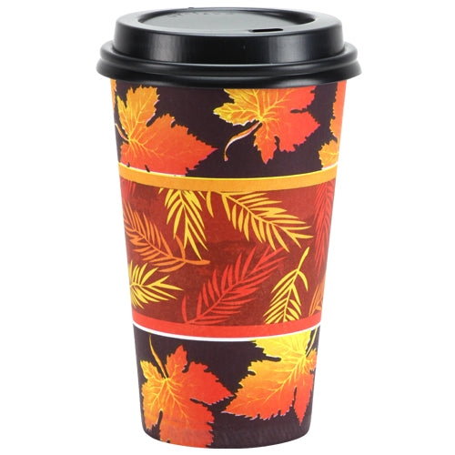 Premium Paper Leaves 16oz Cup