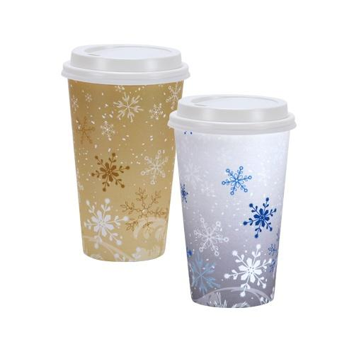 Premium Quality Paper Ripple Hot Cups<br/>Size Options: 16oz Hot Cup