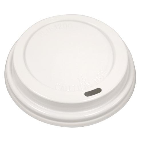 Hot Cup Lid / White