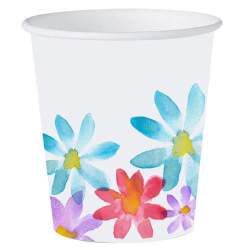3oz Bathroom Cups / Floral