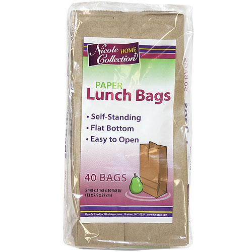 Paper Lunch Bags / Brown