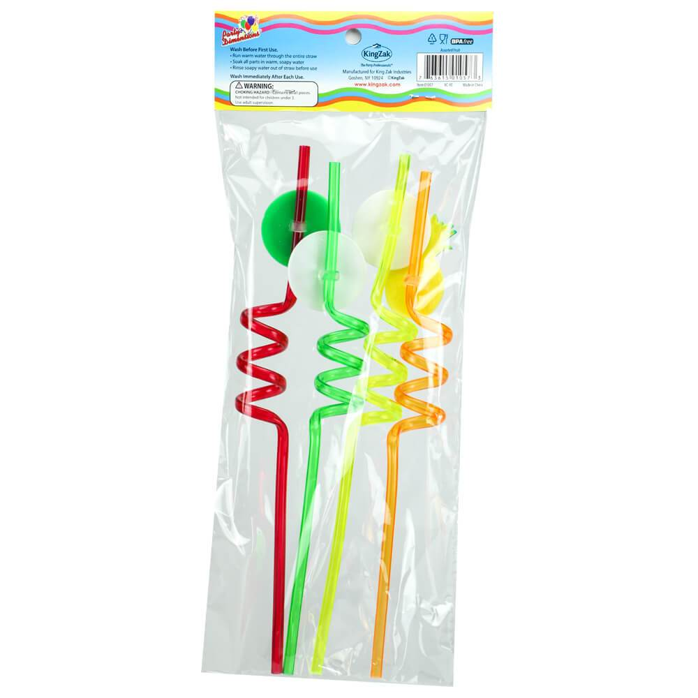 Fruit Straws / Assorted