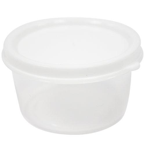 Premium Heavy Weight Plastic Container<br/>Size Options: 2.3oz Container