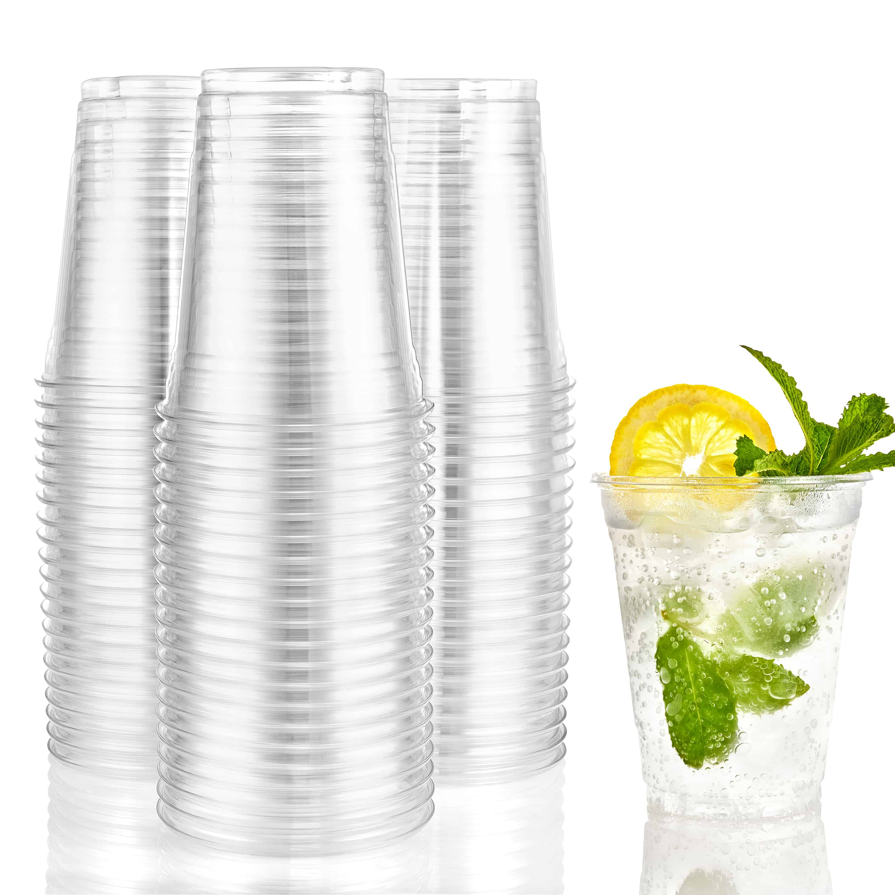 Premium Heavy Weight Plastic Cups<br/>Size Options: 16oz Cup