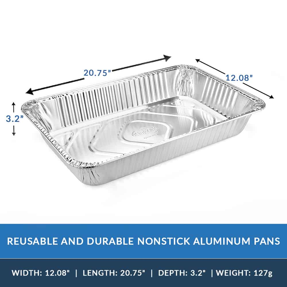 Aluminum Pan<br/>Size Options: Full Aluminum Pan