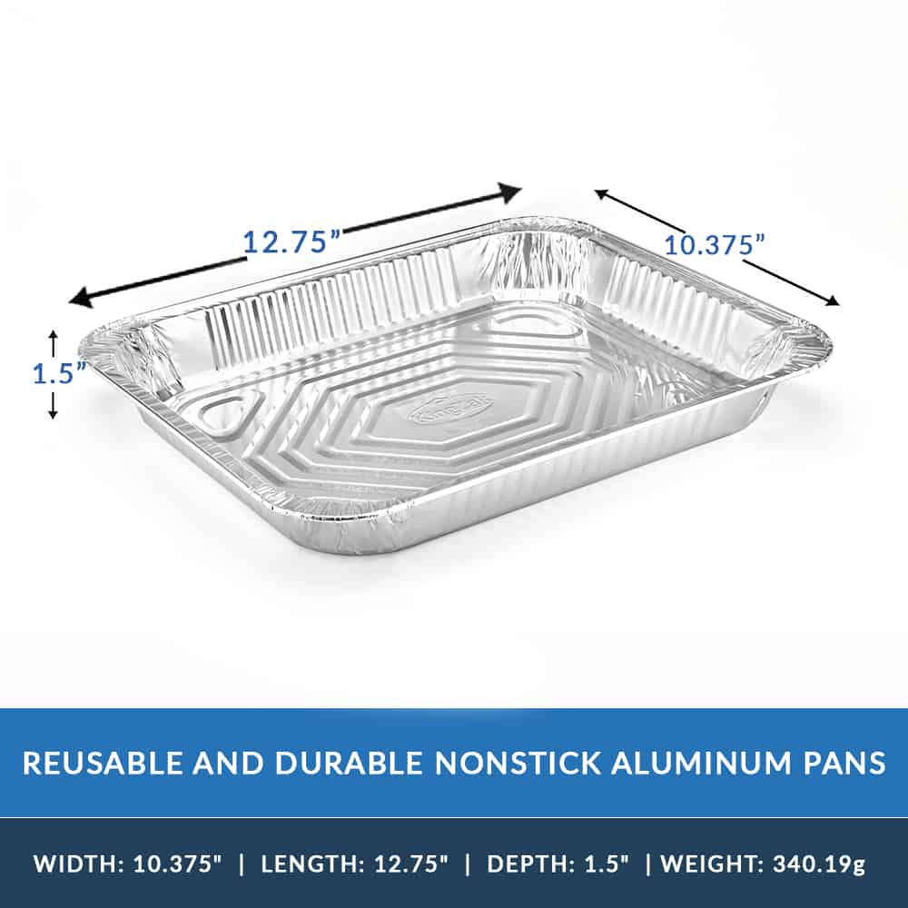 Aluminum Pan<br/>Size Options: Half Aluminum Pan