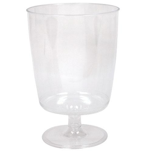 8oz Footed Wine Stemware / Clear
