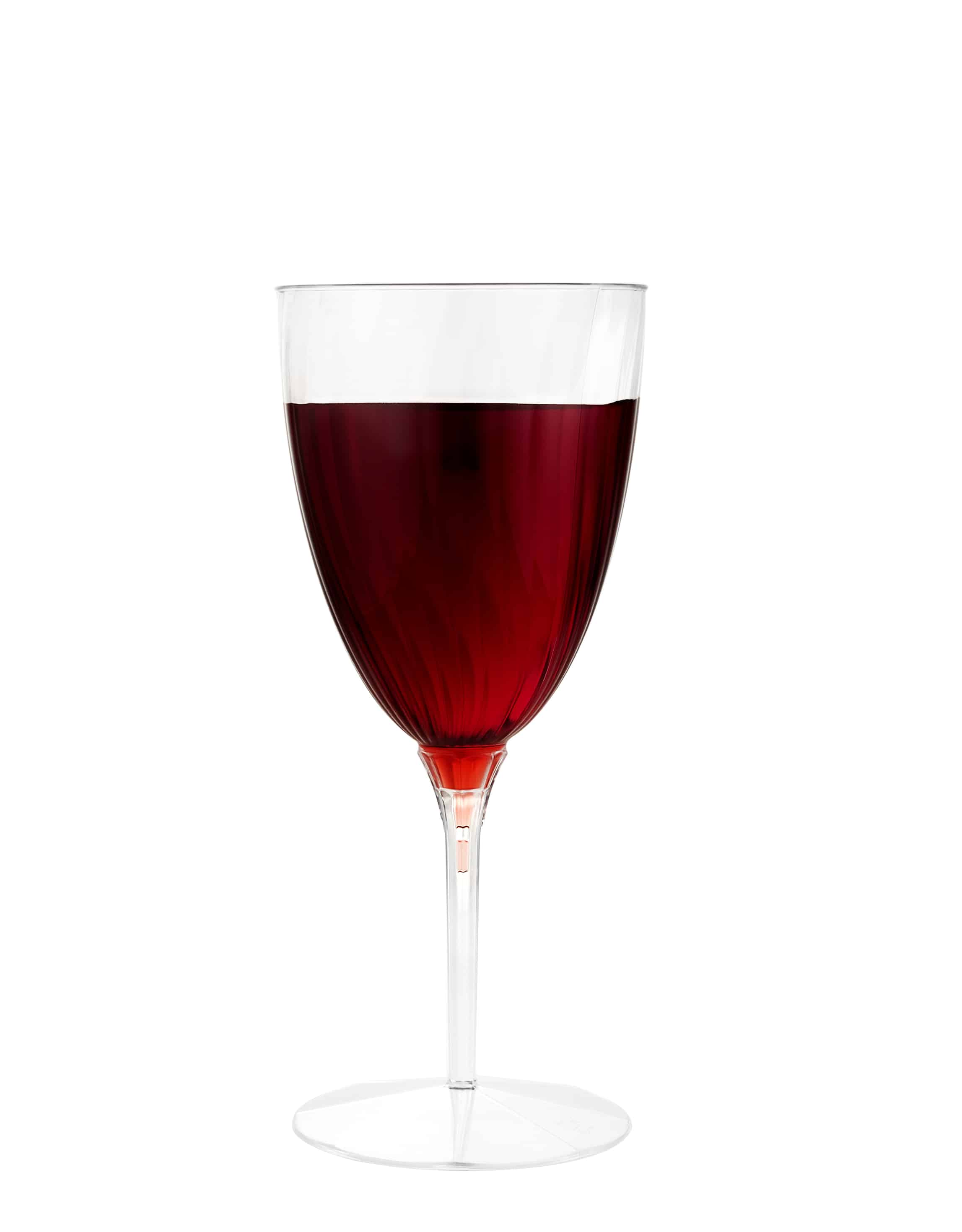 Premium Plastic Dinkware<br/>Size Options: 8oz Wine Stem Tumbler and 6oz Champagne Flute Tumbler