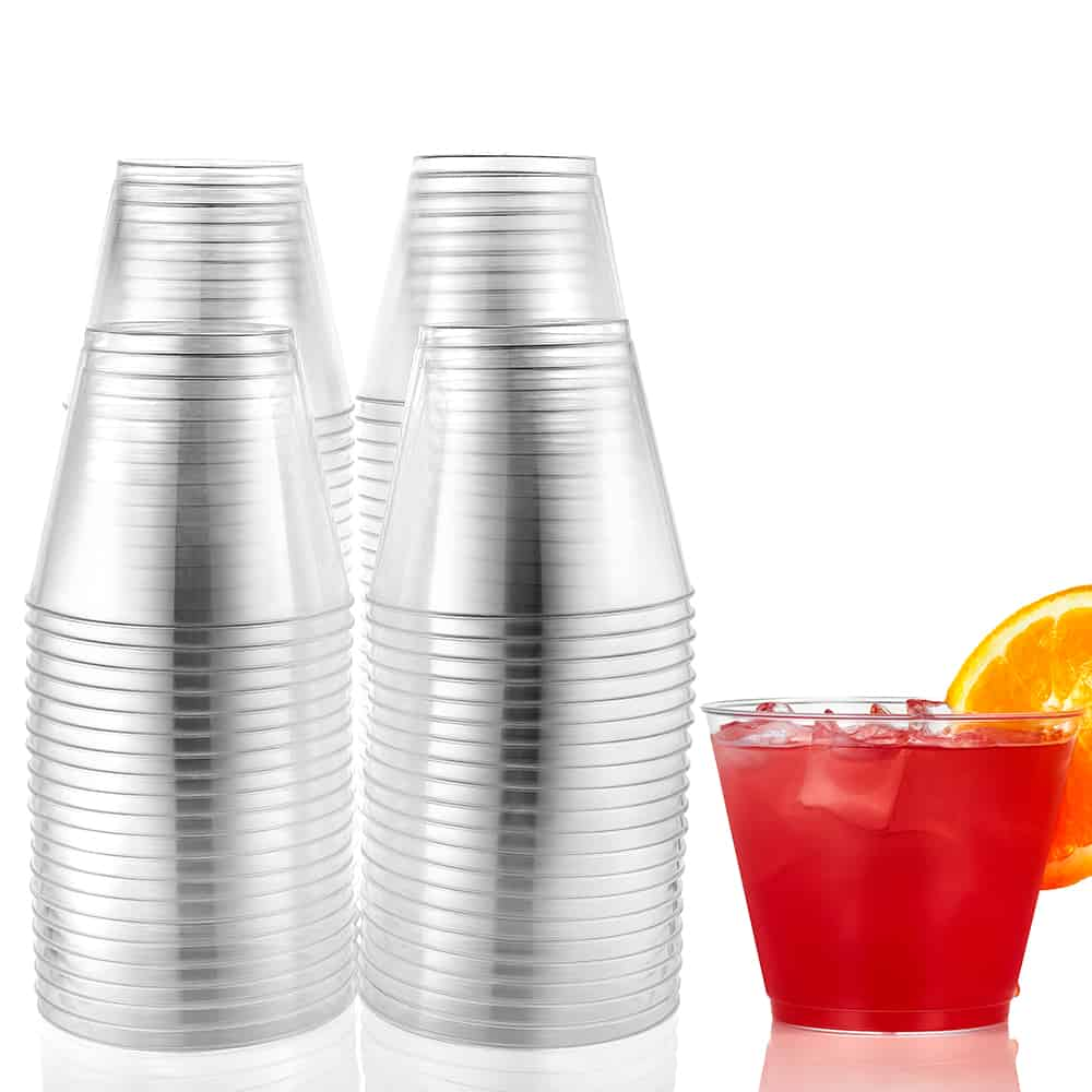 Premium Heavy Weight Plastic Drinkware<br/>Size Options: 10oz Tumbler, 14oz Tumbler, 9oz Tumbler, 8oz Tall Tumbler, 7oz Tall Tumbler, 5oz Tumbler, 20z Shot Cup and 1oz Sht Cup