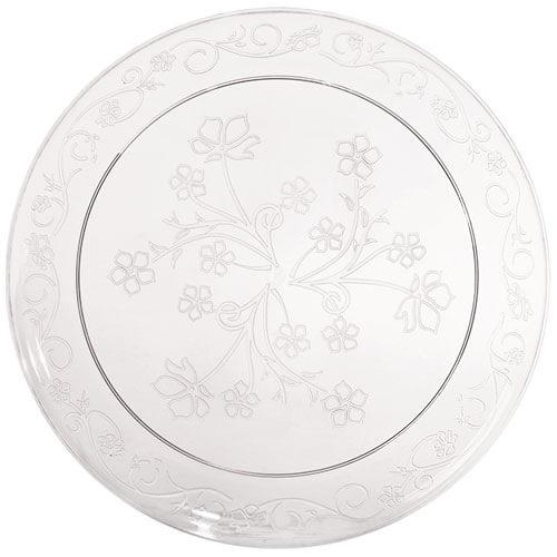 10inch Plate / Clear