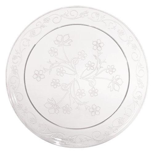 9inch Plate / Clear