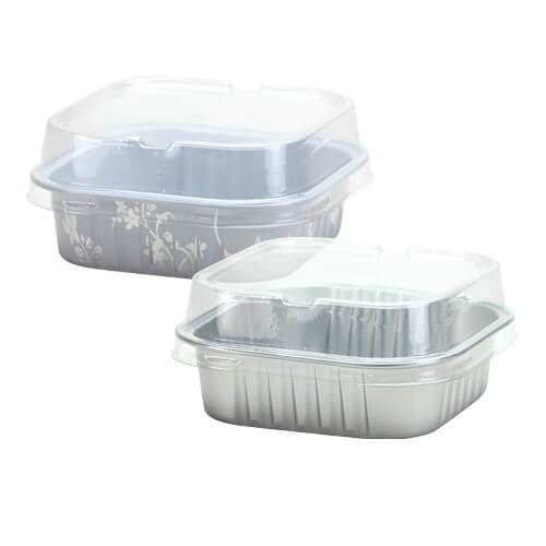 2.75inch Mini Baking Pans / Silver