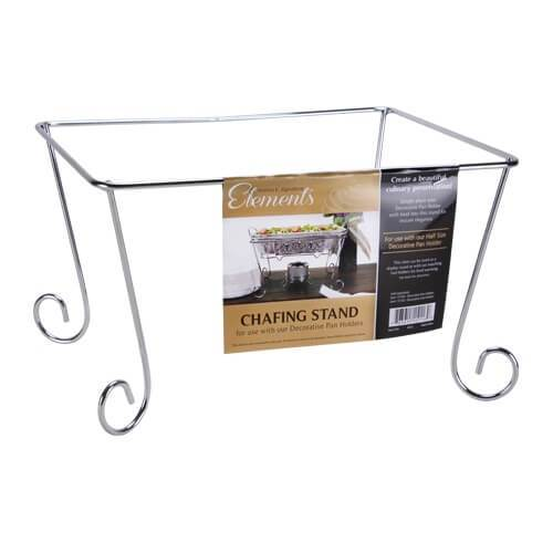 Chafing Stand / Silver