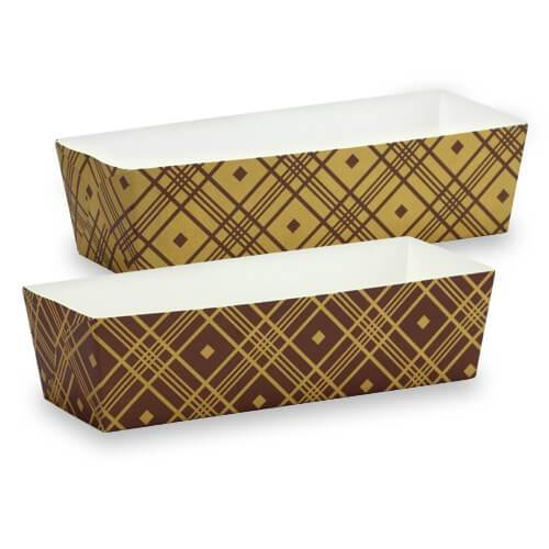 Premium Quality Paper Baking Pans>br/>Size Options: 7inchx2.25inchx2inch Baking Pan