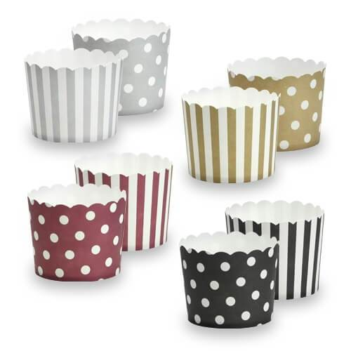 2.25inchx2inch Baking Cups / Assorted
