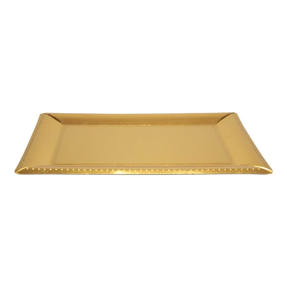 16.25inchx12inch Serving Tray / Gold