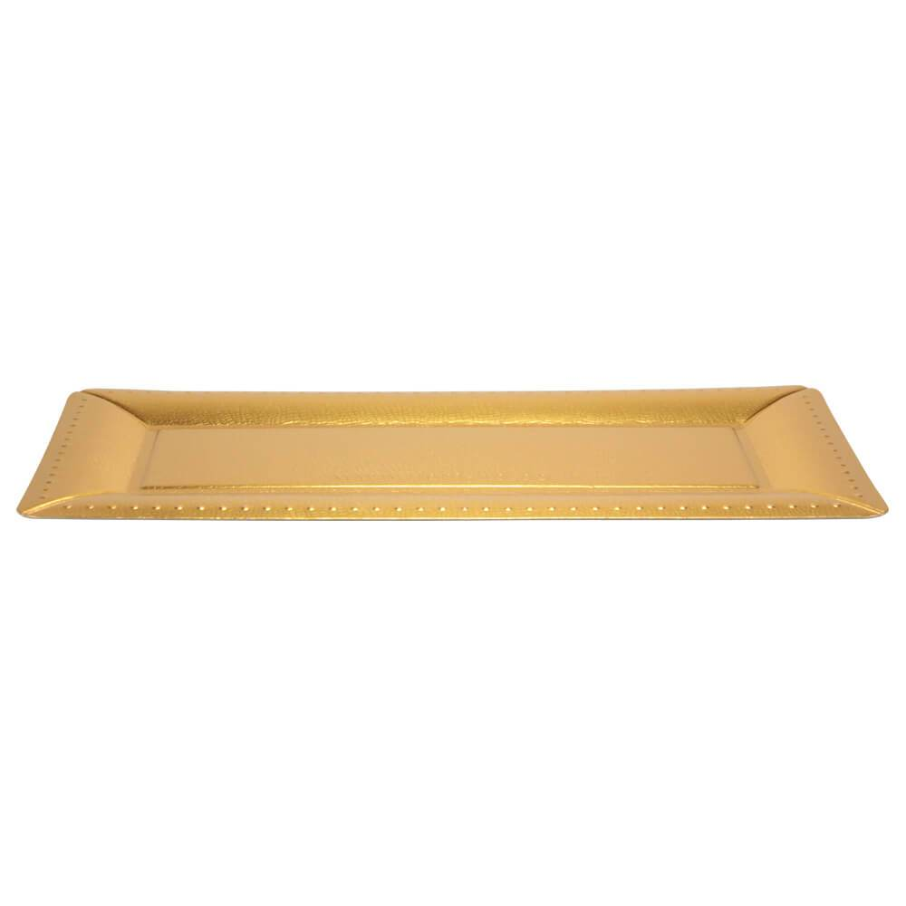 16inchx7.5inch Serving Tray / Gold