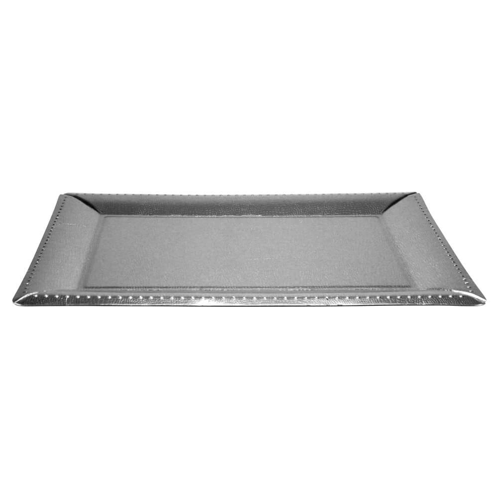 16.25inchx12inch Serving Tray / Silver