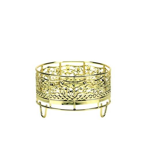 Decorative Container Holder / Gold