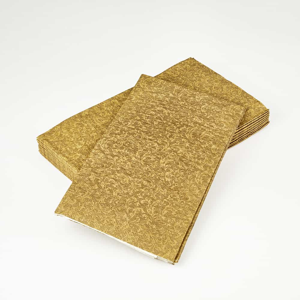 Premium Paper Textures Tableware<br/>Size Options: 10inch Plate, 7inch Plate, 9oz Cup, Lunch Napkin, Beverage Napkin, and Bistro Napkin