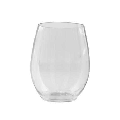 12oz Stemless Wine Cup / Clear