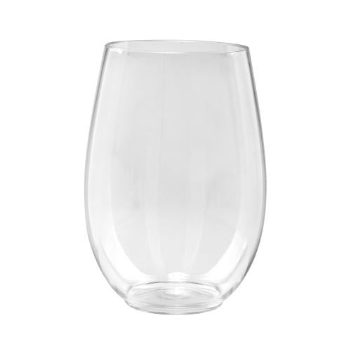 16oz Stemless Wine Cup / Clear