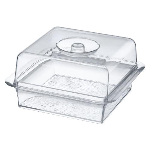 Acrylic Square Servware / Clear