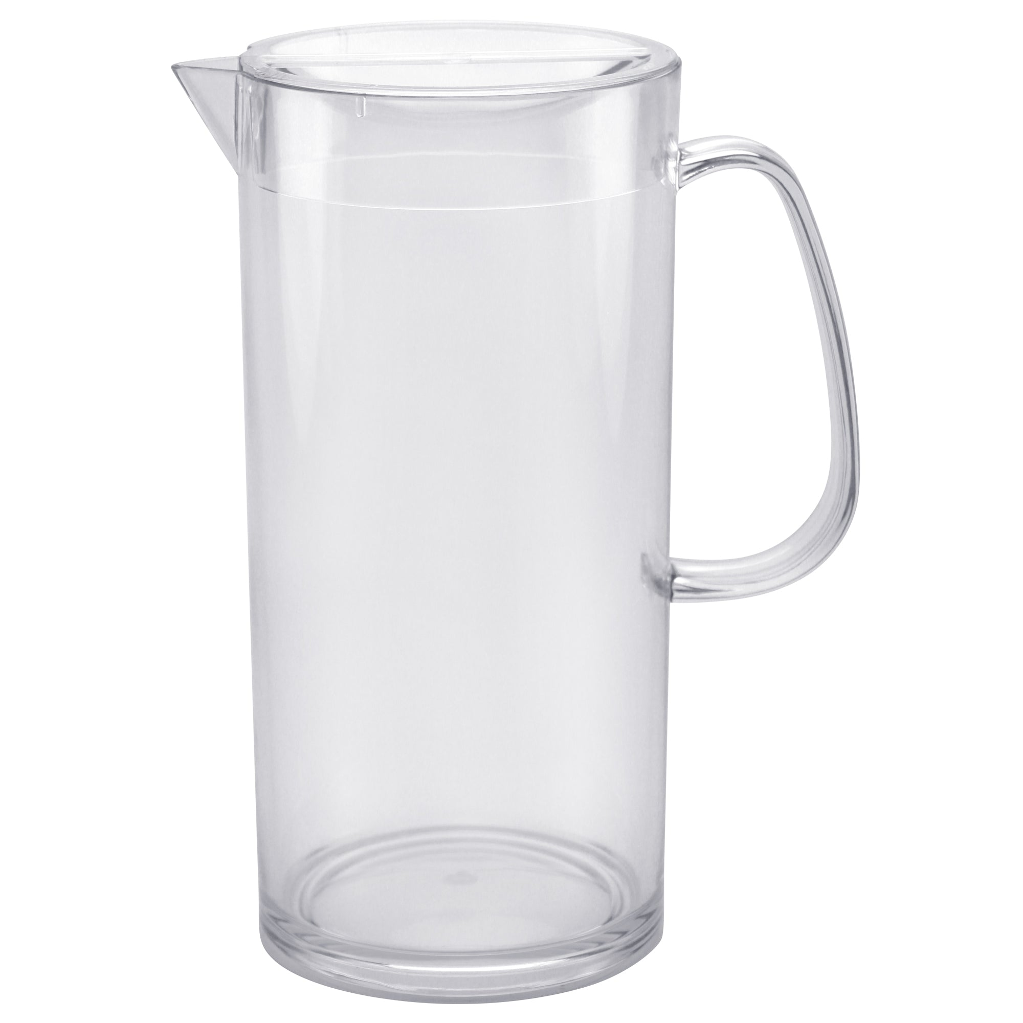Clear Acrylic 98 oz. Pitcher With Lid
