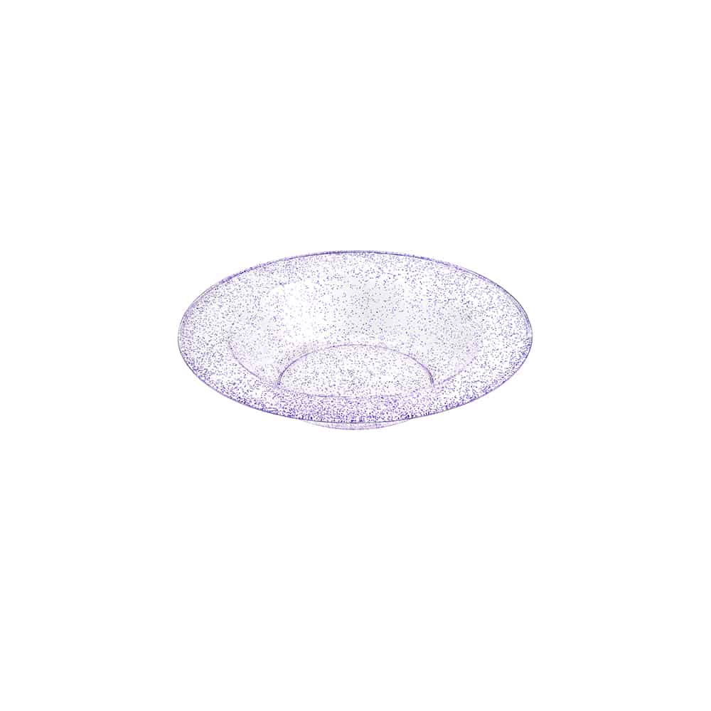 Premium Extra Heavy Weight Plastic Glitter Dinnerware<br/>Size Options: 10.25inch Plate, 14oz Bowl, 5oz Bowl, 7.5inch Plate and 9inch Plate
