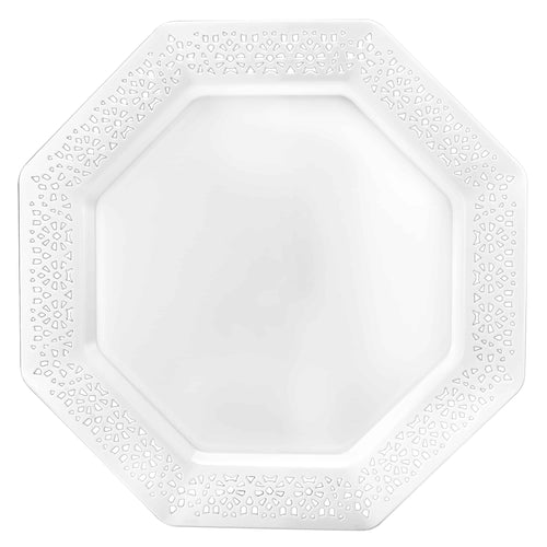 Lillian Tablesettings Serving Tray 12 by 18-Inch Pearl
