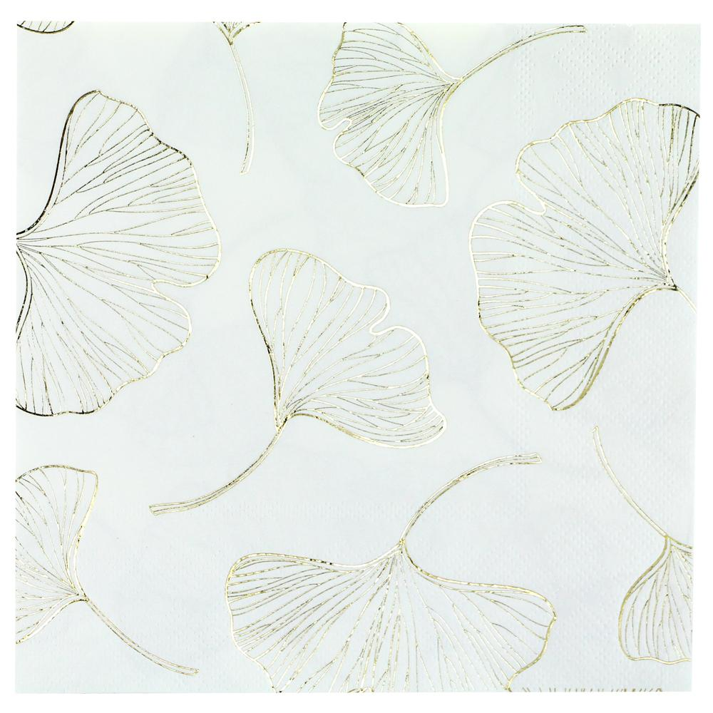 Lunch Napkin / Gingko Gold