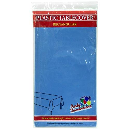 54inchx108inch Tablecover / Medium Blue