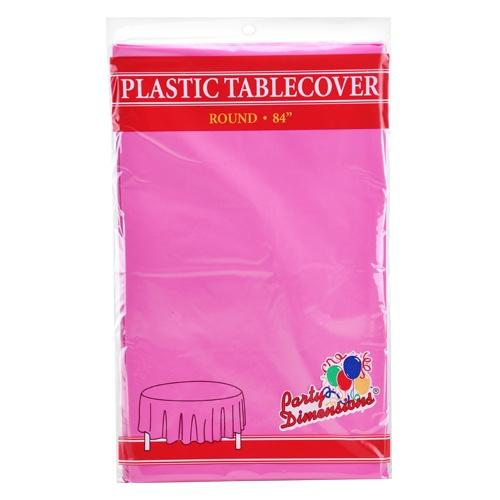 84inch Tablecover / Hot Pink