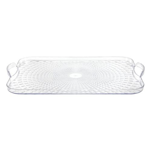 18inchx13inch Serving Tray / Clear