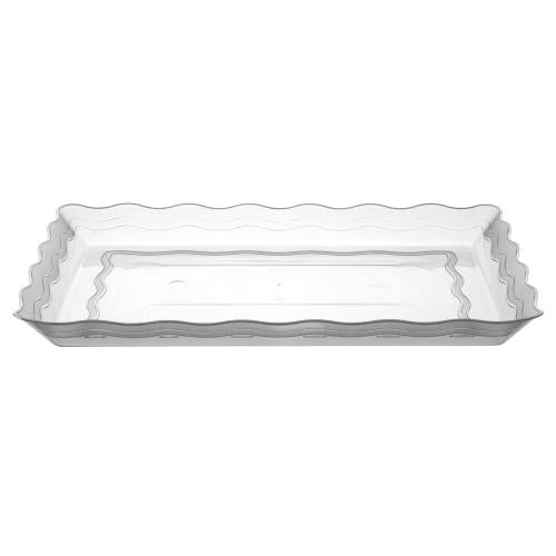 9inchx13inch Serving Tray / Clear