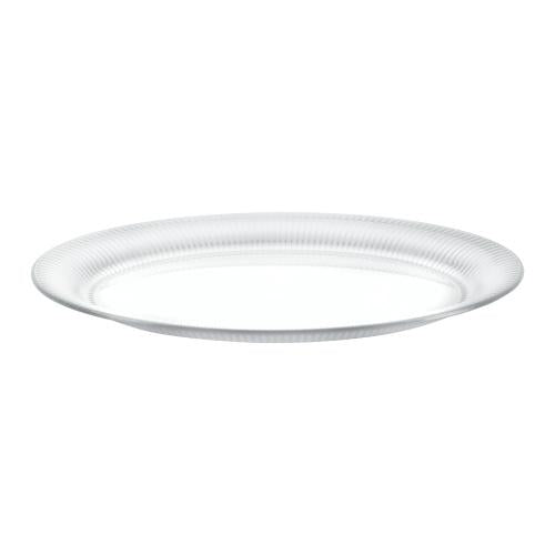 18inchx14.5inch Serving Tray / White
