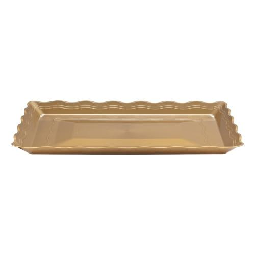 12inchx18inch Serving Tray / Gold