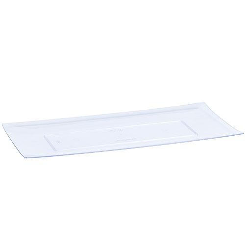 Premium Extra Heavy Weight Plastic Serving Tray<br/>Size Options: 13.25inchx6.25inch Serving Tray