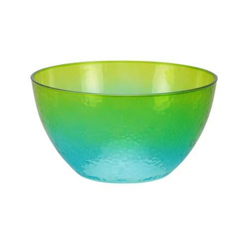 60oz Serving Bowl / Green/Blue