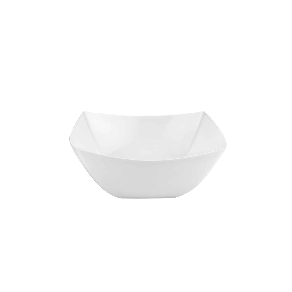 Premium Extra Heavy Weight Plastic Fluted Servingware<br/>Size Options:10oz Bowl, 18oz Bowl, and 34oz Serving Bowl