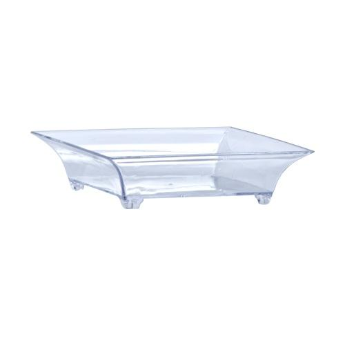 Mini Footed Dish / Clear