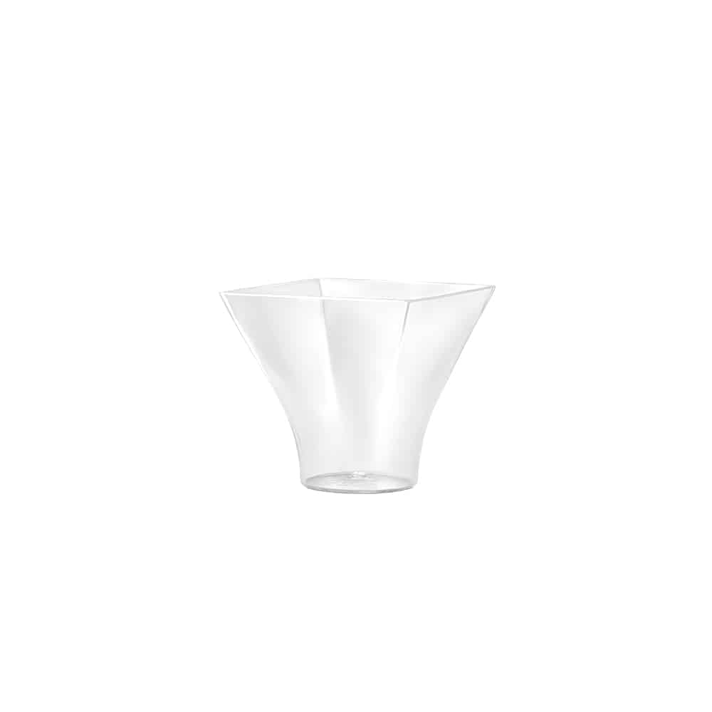Premium Plastic Mini Flared Mousse Cup