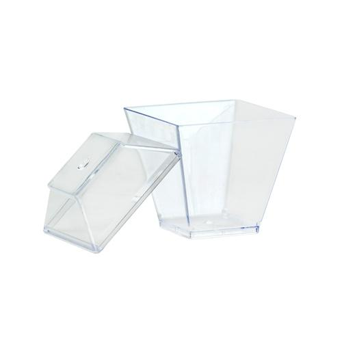 Mini 2oz Gourmet Dish / Clear