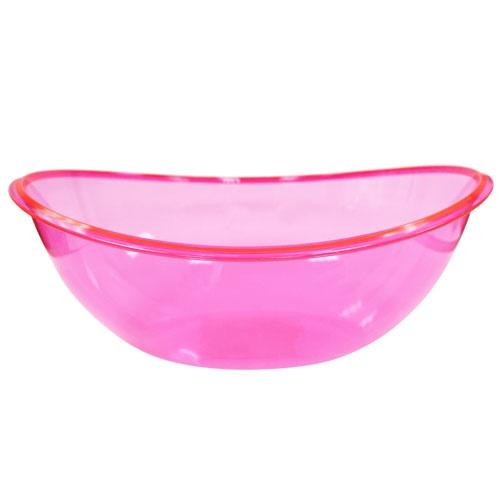 Oval Contour Bowl / Neon Pink